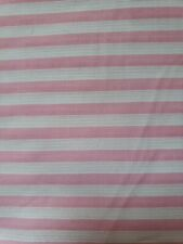 New listing 65/35 Fortrel Poly/Combed Cotton Fabric Sew Pink Baby Cord Dan River 3yx45