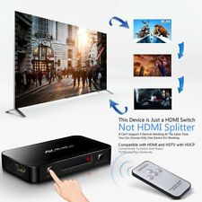 4X1 HDMI Switch with Audio Optical TOSLINK Out 4K Ultra HD 4 Port 4Kx2K
