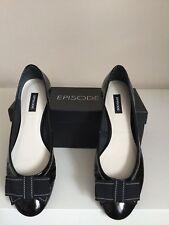 Episode Black Patent Shoes Size 41