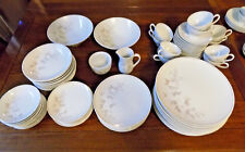 67 Pc Noritake BELDA #6342 Porcelain China Vintage White Florals