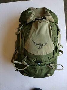 Osprey Kestrel 48 Pack for Backpacking - preowned