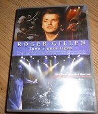 ROGER GILLEN LOVE'S PURE LIGHT*DVD*LIVE FROM SPANISH HARLEM*CONCERT*INC BONUS CD