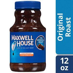 Maxwell House The Original Roast Instant Coffee 12 oz
