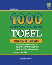 Columbia 1000 Words You Must Know for TOEFL: Book One with Answers (Volume 1), L