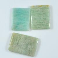 43.10 Ctw LOT Amazonite Cushion Pendant Bead Cabochon Natural Gemstone Undrill