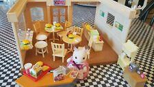 Calico Critters Hamburger Restaurant, 59 Pieces!