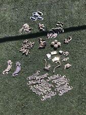 Assortment Of Brass Castors And Brass Door Furniture