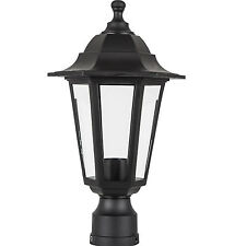 Outdoor Lamp Fixture Post Outside Antique Pole Mount Lighting Street Light Yard