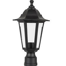 Outdoor Lamp Fixture Post Outside Antique Pole Mount Lighting Street Light Yard
