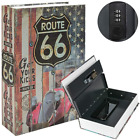 Book Safe Box Lock Water Fire Proof Home Money Cash Sentry Key PROTECTION