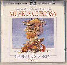 Leopold Mozart, Druschetzky - Nemeth: Musica Curiosa (Hungaroton) Like New