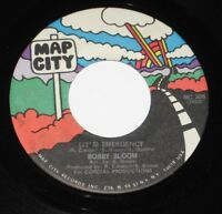 "Bobby Bloom 7"" 45 HEAR NORTHERN SOUL (It's) Emergency MAP CITY Again N Again"