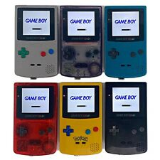Gameboy Color Q5 XL Oversized IPS w/ OSD Console Backlit LCD Screen GBC Game Boy