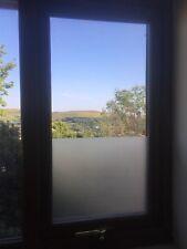 GIVRE OPAQUE Plain Privacy solaire obscur Fenêtre Film en verre-Air/Sans Bulles