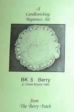 A CANDLEWICKING BEGINNERS KIT, FROM THE BERRY PATCH, NEW OLD STOCK 1982