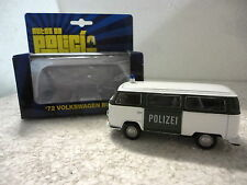 Autos de Policia,72 Volkswagen Bus 72,Alemania,Escala 1:36:38,Ed.Welly