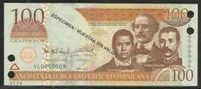 Dominican Republic 100 Peso Oro 2010 Specimen Unc