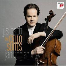 Jan Vogler-Johann Sebastian Bach Cello Suites 1-6 (2 CD) 36 TRACKS NEW