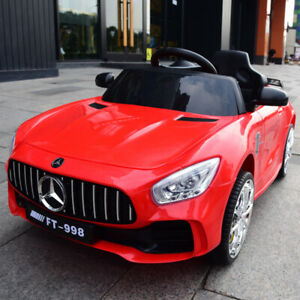 12V Battery Kids Ride On Car Electric Outdoor Toy for MERCEDES BENZ with Remote