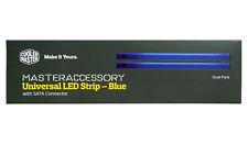 Cooler Master universel bleu bande DEL, connecteur SATA Lot de 2 DEL Strips