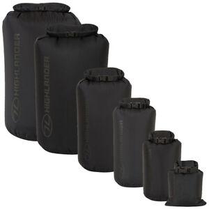 Waterproof Dry Bag Stuff Sack Kit Bag Black 1-140L Kayaking Canoeing Camping