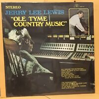 JERRY LEE LEWIS Ole Tyme Country Music, Factory Sealed Rockabilly Album, SUN-121