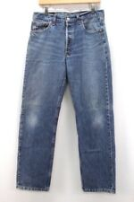 vintage medium wash LEVIS 501 jeans usa red tab button fly actual 33 x 31 34x32