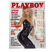 PLAYBOY Magazine Vintage Centerfold April 1999 WWE Sable Rena Marlette