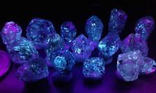 15 piece lots of fluorescent petroleum quartz from Pakistan!