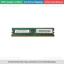 MT18HTF25672AZ-667H1 Micron 2GB DDR2 ECC PC2-5300 667Mhz Memory