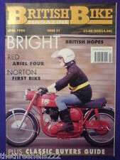 BRITISH BIKE - ARIEL FOUR - April 1990 # 31