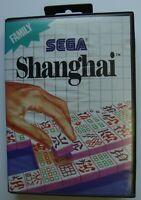 SHANGHAI SEGA MASTER SYSTEM SMS