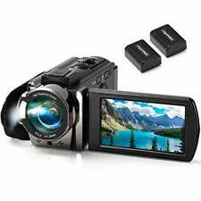 Camcorder kimire Digital YouTube Vlogging Recorder Full HD 1080P 15FPS 24MP