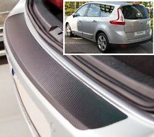 Renault Megane (Grand) Scenic MK3 - Carbon Style rear Bumper Protector