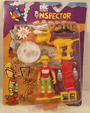 Inspector Gadget Penny & Her Dog Brain Action Figures With Skateboard Tiger Moc