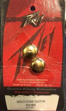 Peavey gold dome Knobs Guitar Bouton Lourd Potentiomètre