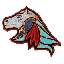 NATIVE INDIAN HORSE 4 INCH IRON ON MC INDIAN  PATCH