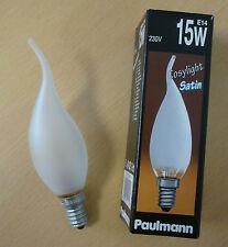 Paulmann Bulbs Gust candle mat 15W E14 Candle bulb Cosylight satin 514.10
