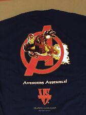 2005 Marvel Avengers Assemble shirt trading card game