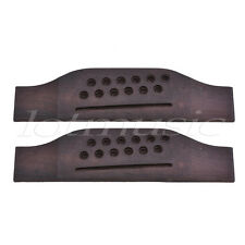 Bridge for 12 String Acoustic Guitar Parts Rosewood Oversized Pack of 2