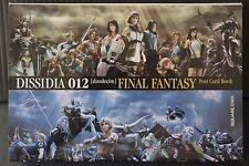 JAPAN Dissidia 012 -duodecim- Final Fantasy Postcard Book