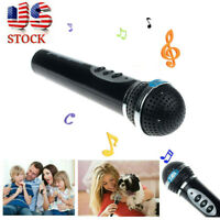 Microphone Toys Girls Boys Mic Karaoke Singing Kids Funny Gift Music Sing Toy US