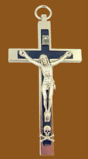 Medieval Masonic ? Knight Church Memento Mori Skull Cross Crucifix KT Holy Land