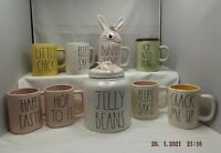 Rae Dunn Artisan Easter Collection Coffee/Tea Mug, Jelly Beans Canister