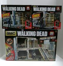 The Walking Dead TV McFarlane Toys Prison Catwalk Set Upper & Lower Prision Cell