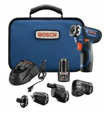 Bosch 12V FlexiClick 5 in 1 Drill Driver Kit GSR12V-140FCB22 Charger Bag New