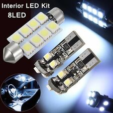 8LED T10 Luz 41mm Bombillas Festoon Interior Lectura Coche For VW T5 Transporter