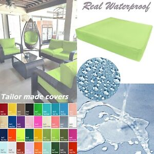 TAILOR MADE COVER*Patio Bench Cushion Waterproof Outdoor Swing Sofa Daybed Dw44