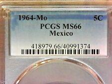 1964-Mo  PCGS MS66  Mexico Five cent--5c