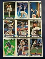 1993 Topps TORONTO BLUE JAYS Complete Team Set 28 CARTER WORLD SERIES CHAMPS WOW